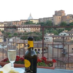 #Sunset on the #room #terrace at #hotelminervasiena #Siena #tuscany #Italy #Summertime #holidays #takeabreak #august7th