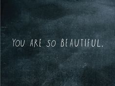 yes. you. :: love this decal from Shanna Murray that can be used on mirrors or walls etc.