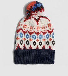 b24bb4ce9d3 Penfield Jarrow Fairisle Bobble Hat