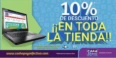 En #Cashero tenemos 10% d descuento en toda la tienda. Para q no te quedes sin estrenar. Visita nuestra tienda online