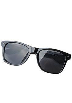 Glamorous Wayfarer Sunglasses Black