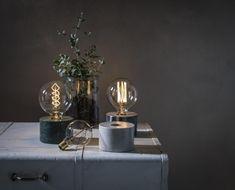 Cortona bordslampa marmor - Bordslampor | Lampgallerian.se