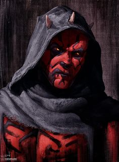"imthenic: ""Kylo Ren and Darth Maul by Sam Denmark "" Star Wars Film, Star Wars Fan Art, Star Wars Darth, Jedi Sith, Sith Lord, Star Wars Characters, Star Wars Episodes, War Novels, Images Star Wars"