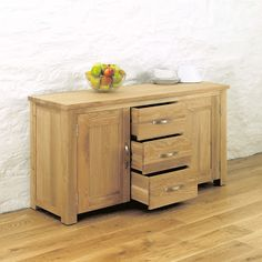 aston oak large sideboard aston solid oak wall mirror