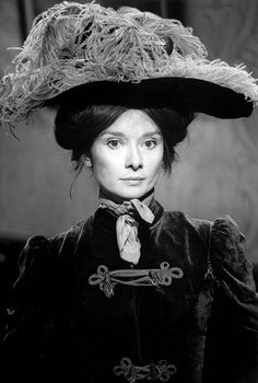 Audrey Hepburn as Eliza, My Fair Lady, 1963. Photo Bob Willoughby