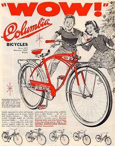 Christmas Bicycle Ads. c.1960s - Retronaut