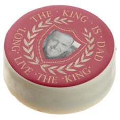 The King is Dad Photo Template ID181 Chocolate Covered Oreo