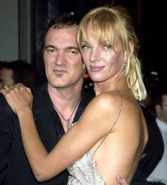 Thurman und Tarantino 2003