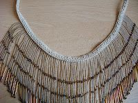v-shaped necklace