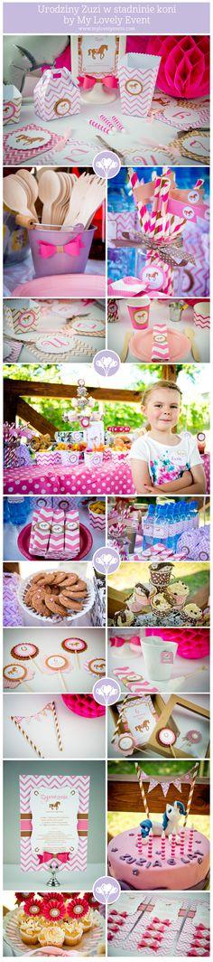 6 Urodziny Zuzi - My lovely event Birthday party with horses
