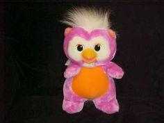 12-Skowl-Wuzzles-Plush-Toy-Half-Owl-Half-Skunk-1986-Hasbro-Extremely-Rare