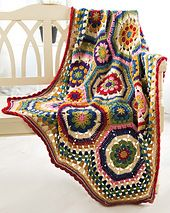 Octiw Throw #crochet blanket pattern from @jessie_athome
