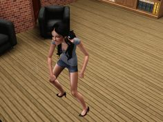 Whenever your Sim freaked out like this. | The 29 Weirdest Things Ever To Happen When Playing The Sims