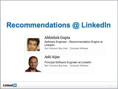 (16) How does LinkedIn's recommendation system work? - Quora