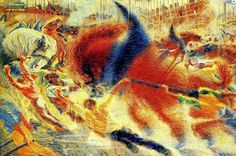 The City Rises By Umberto Boccioni - Famous Art - Handmade Oil Painting On Canvas — Canvas Paintings Museum Of Modern Art, Art Museum, Futurist Painting, Art Manifesto, Umberto Boccioni, Italian Futurism, Madona, Futurism Art, Oil On Canvas