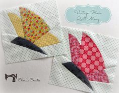 Charise Creates: Vintage Block Quilt Along ~ Spring Butterfly ~ Block #11