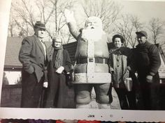1961 visit to Santa Claus Land, My great grandma and grandpa (from Erin Elliott)