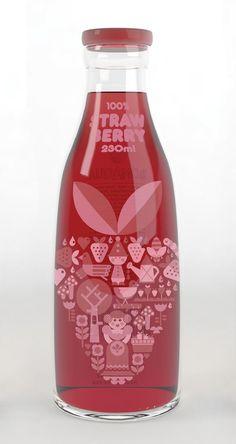concept Bonaqua packaging by Nicola Meiring