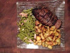 Rôti de boeuf à l'oignon caramélisé - Recette de cuisine Marmiton : une recette