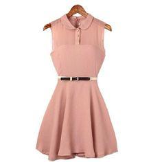 Damen Modisches Armlos Cocktailkleid aus Chiffon Casual Sommerkleid Abendkleid Fashion Season, http://www.amazon.de/dp/B00KMNW1SY/ref=cm_sw_r_pi_dp_VozJtb00ZB818