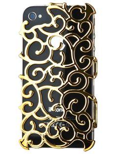 Gold Art Nouveau iPhone 4S Case