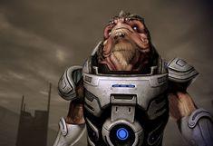 Grunt es un guerrero Krogan, uno de los mejores guerreros del Universo que acompañará en sus aventuras al comandante Shepard.