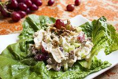 Skinny Chicken Salad Recipe - so easy!