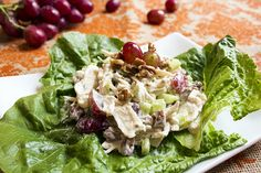 Skinny Chicken Salad Recipe - so easy!