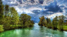REFLEXÃO DO DIA: Parábola : O Encontro do Riacho Limpo com o Pantan...