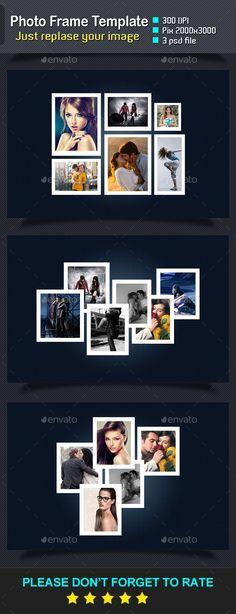 Photo Frame Templates #design Download: http://graphicriver.net/item/photo-frame-templates/11840810?ref=ksioks