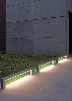 Buitenverlichting op subtiele wijze ontworpen en toegepast #verlichting #outdoor #buiten