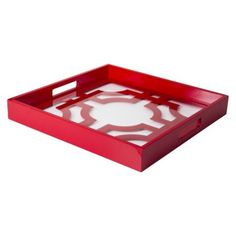 Clearance $21 Threshold™ Lattice Serving Tray - Red