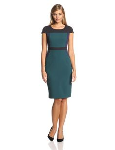 Color-Block Sheath Dress by Marc New York by Andrew Marc
