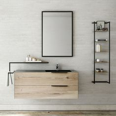 Discover the model of bathroom furniture FERRO, designed and produced by Atlantic Bain! Source by eloguillaucard Furniture, Bathroom Furniture, Industrial Furniture, Wooden Bathroom, Bathroom, Farmhouse Master Bathroom, Bathroom Decor, Wood Bathroom, Bathroom Inspiration