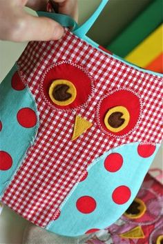 Owl Purses by Necessity & a Pattern Giveaway! - Gingercake