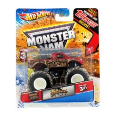 2012 Hot Wheels Monster Jam Gunslinger 1/64 with Topps Trading Card by Mattel. $8.33. Realistic Truck design. 1/64 size to collect and save.. Save 44% Off!