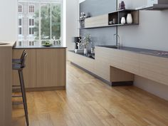 SO REALISTIC! Beautiful Wood-look tile by Interceramic. Check it out! Perfect for floor/wall applications.