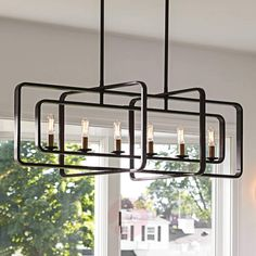 The Light Brothers Lampe Industrial, Chandeliers, Led Röhren, Mid-century Modern, Contemporary, Mid Century Modern Lighting, Hinkley Lighting, Led Lampe, Simple Shapes
