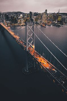 The other SF Bridge By David Perry #sanfrancisco #sf