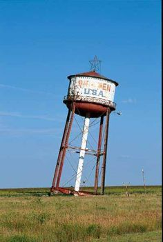 Leaning Tower of Texas: Groom, Texas