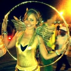 Hunger Games Hooping Costume Idea  http://hoopnotica.com/blog/2013/10/hula-hoop-costume-ideas-for-halloween-or-whenever-you-feel-like-it/