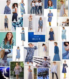 Vi hører ofte at vi er den «fargerike butikken»,  men faktum er at vi både har størst utvalg av og selger mest svart. Derfor la vi ut en liten collage av svart og hvit i går. Svart er en mektig farge og handler kanskje mer om en stil man har en hva man kler. Myker man fargen opp med litt hvit kan den bli mer feminin og elegant, men også strengere 😉 I dag hadde vi tenkt å vise dere et lite utvalg av blått 💙 Fargen blå er veldig skandinavisk, og selv om mange mener de ikke kler blått… Dere, Photo Wall, Photography