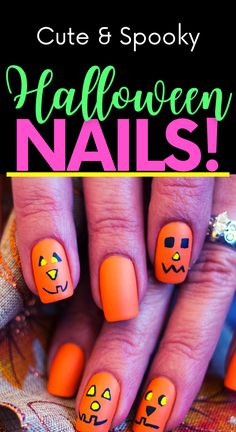 Get in the spooky spirit with these cute Halloween nail ideas! Cute Halloween nail designs! Easy Halloween nails diy! Easy Halloween nail designs. Diy Halloween nails easy. Cute Halloween Nails, Holloween Nails, Halloween Nail Designs, Easy Halloween, Halloween Costumes For Kids, Halloween Crafts, Short Nail Designs, Cute Nail Art Designs, Simple Nail Designs