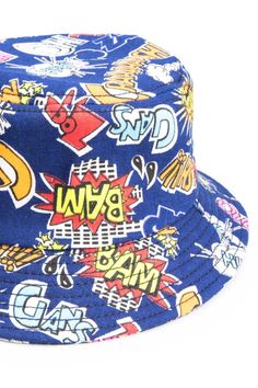 3221df784b1 BAM! check out our comic bucket hat! Bucket Hat