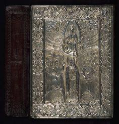 Silver Gospels, Binding, Walters Manuscript W.542, Lower board outside  