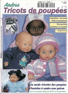 andrea 509 - andrea poupees - Веб-альбомы Picasa Reborn Dolls, Baby Dolls, Baby Born Clothes, Knit Crochet, Crochet Hats, Album, Pattern Books, Sewing Patterns Free, Doll Clothes