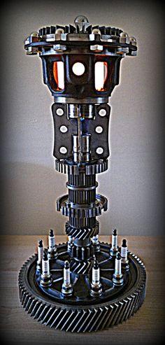 Image 2 of The Lamp of Destiny - by Kaiser Eckhardt Artworks