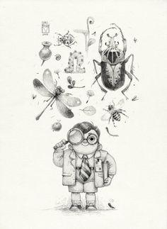 Sketchtober | 009 by BladMoran on DeviantArt