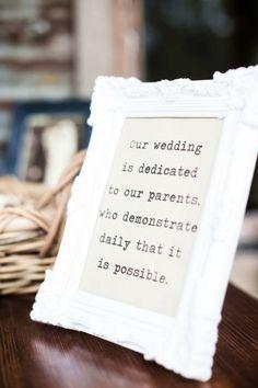 wedding sign DIY parents brides of adelaide magazine