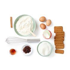 Muffiny s rozinkami máčenými v rumu s posypkou Lotus Biscoff | Lotus Biscoff